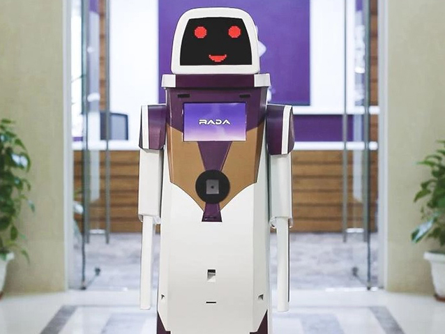 Airport Robots Assist Customers