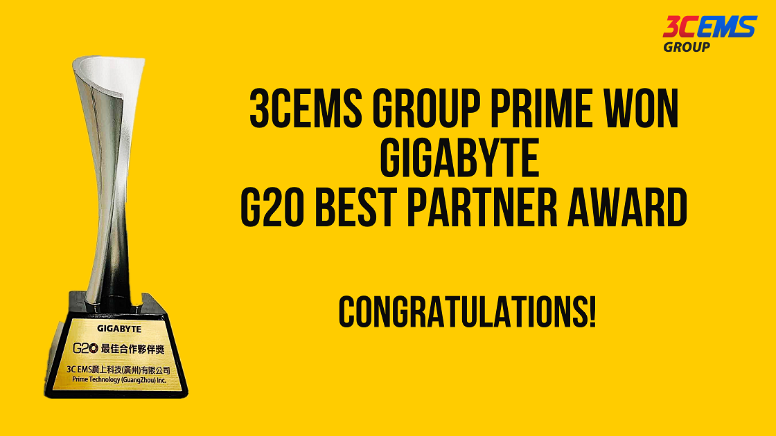 3CEMS Group honored with GIGABYTE and VIA's awards