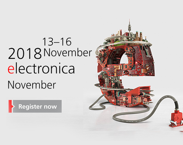 2018 ELECTRONICA MUNICH